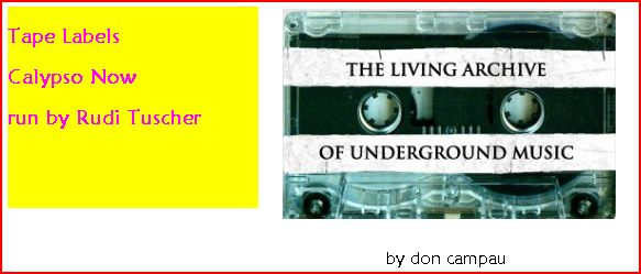 The Living Archive Of Underground Music